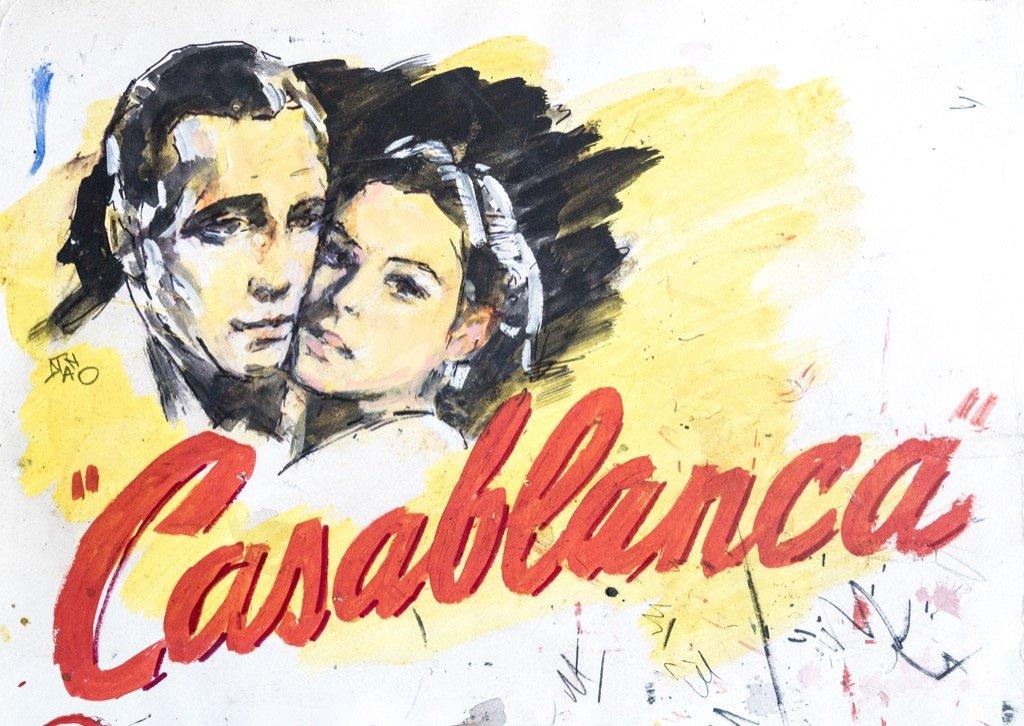 Casablanca_Humphrey Bogart, Ingrid Bergman_DSC0309 copia